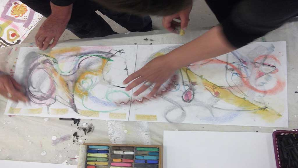 Making Mondays – Drawing & Painting