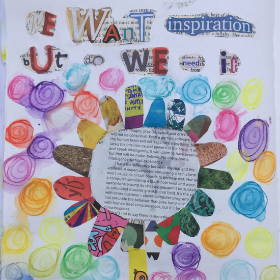 We want inspiration