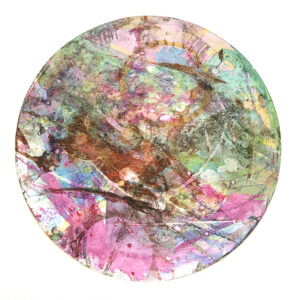 Colourful circular artwork