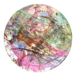 Colourful circular artwork