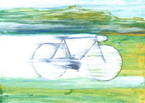 bike prisoners covid print
