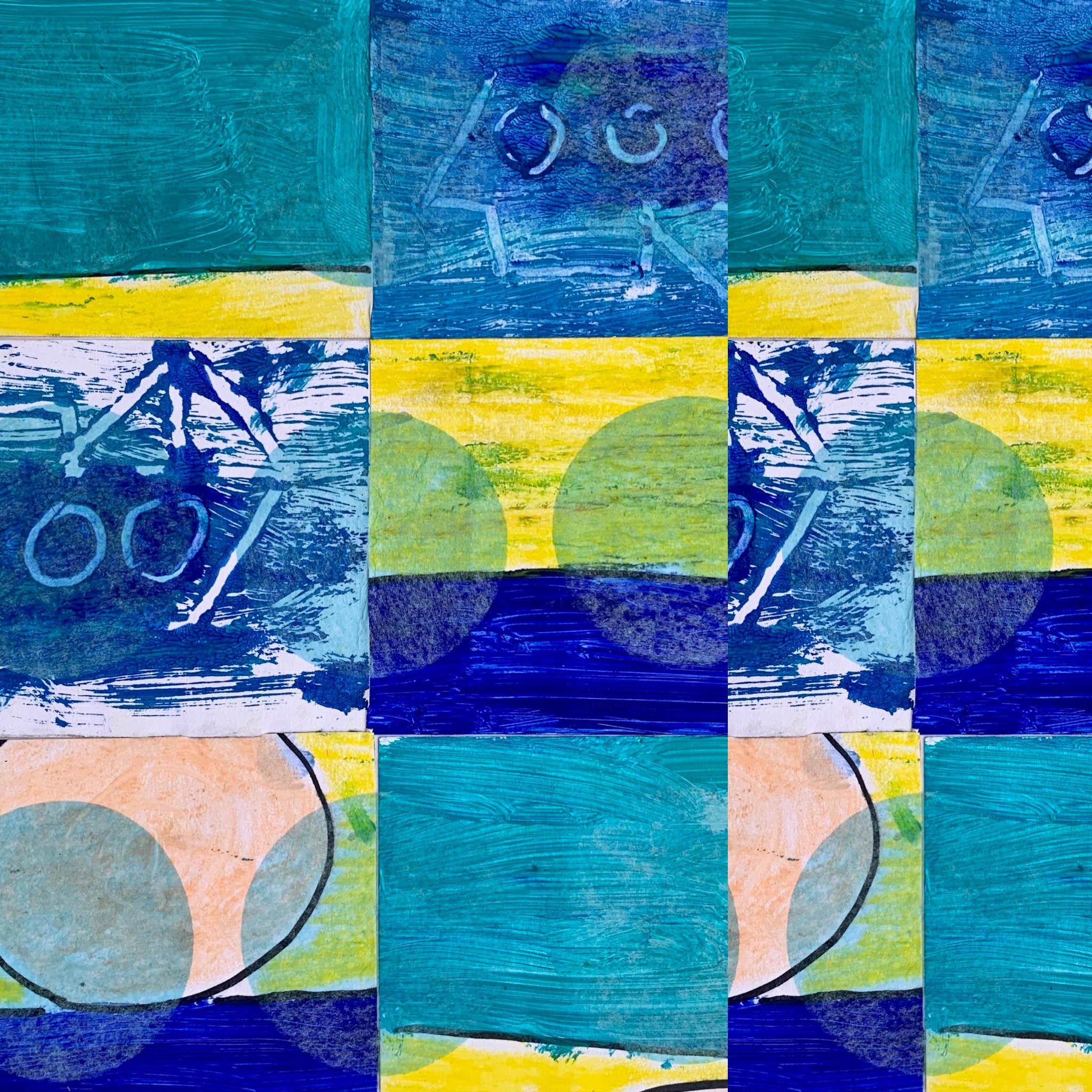 Sailing Away on the Deep Blue Sea 1