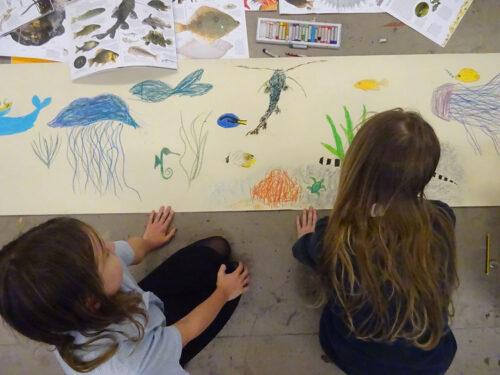 kids sketchbook online workshop