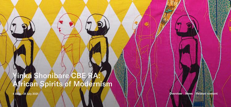 Yinka Shonibare: 'African Spirits of Modernism'